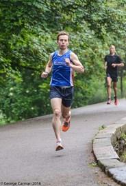 In training for the London marathon