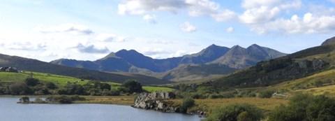 The amazing mount Snowdon
