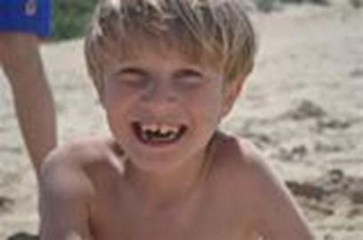 Nicholas Bamforth aged 8yrs