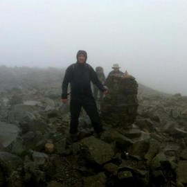 Scafel Pike via Mickledore World  28July