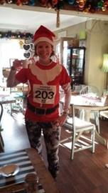 Before the Christmas Pudding Dash!
