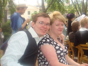 Alex and Me (2010 - embarrassingly, this is the only photo of the both of us together!)