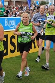 Last year Great North Run finish
