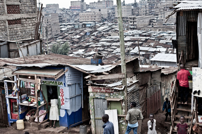In the middle of the second largest slum in Nairobi called Huruma (350,000 est. pop) is the Furaha Community Foundation (Furaha is Swahili for 'joy').