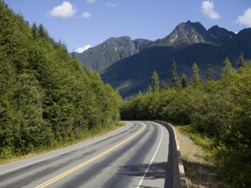 Mountain Roads Vancouver Island