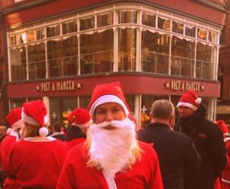 Santa Dash Leeds!