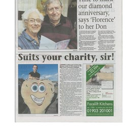 An article in the Lancing Herald in 2010