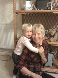 My beautiful mother in law and daughter Grace