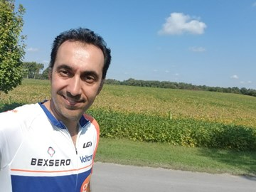 Day 3-190km- Brockville to Trenton-17Sep2017