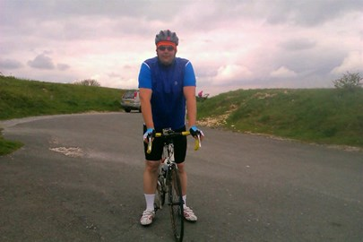 Top of Ditchling Beacon training