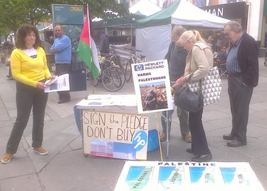 PSC-Southampton weekly stall, this one outside of West Quay shopping centre