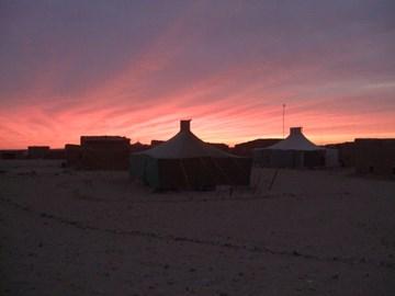 smara camp at dawn