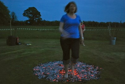 Firewalking - you can do this in Nov 12