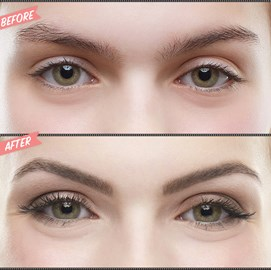 Benefit brows from now to WOW