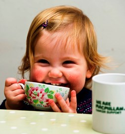 We are so excited to be fundraising for Macmillan Cancer Support