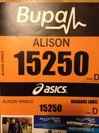 Here is Ali's race number. It may help you find her on the TV!!