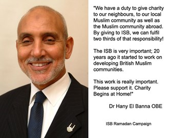 Endorsement from Dr Hany El Banna OBE