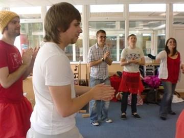 Dance workshop with Watford Mencap