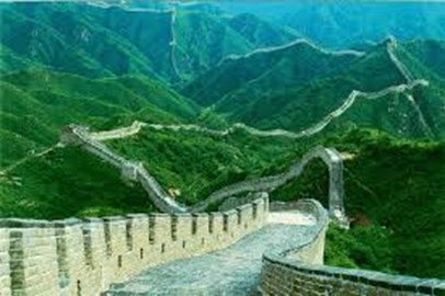 Amazing and scary all at the same time.  The Great Wall of China