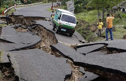 Infrastructure damage