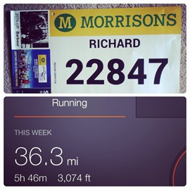 Great north run number for September :)