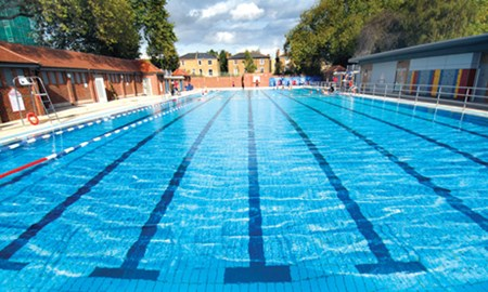 Two thousand,one hundred &sixty lengths!