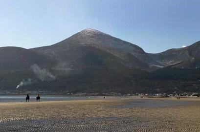 Slieve Donard, the mountain I'll be climbing!