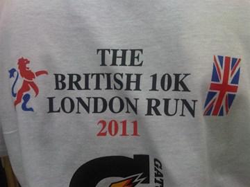 The British 10k London Run 2011