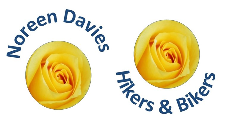 Noreen Davies Hikers and Bikers is fundraising for