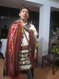 Efrain - Our Inca Chaski!