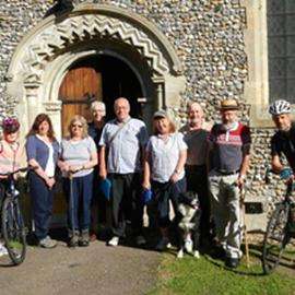 Hikers N Bikers Meet @ All Saints Church