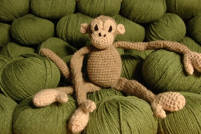 #crochetjungle monkey pattern
