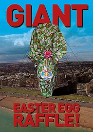 Possibly the World's BIGGEST Easter Egg? Well worth buying a ticket for!