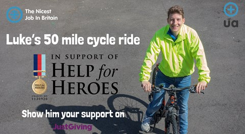 Help support Luke Cameron - Nicest Job