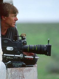 Adrian filming, Etosha National Park