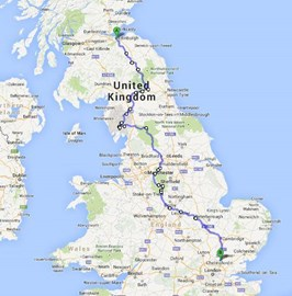 The Route!!!