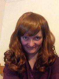 Me wearing Wig 1