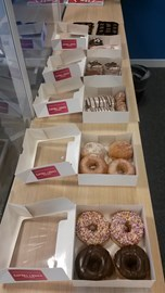 30th July was Cake Day in the office in order to raise more funds for the RNLI