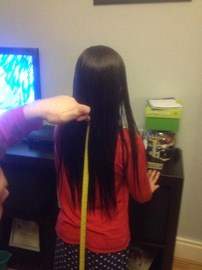 11 inches to be cut from Phoebe's hair