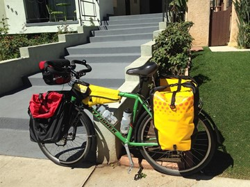 My touring bike... ready to meet London!