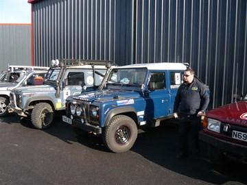 David with Muddy Blue Three and MBToo