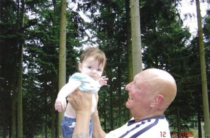 me and my grandad Dan