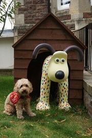 Diddy Gromit by Becky, Clifton College