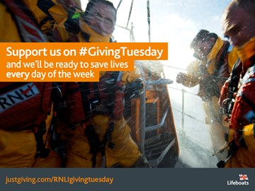 Support the RNLI on GivingTuesday