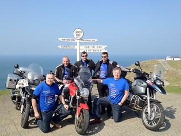 The whole team at Lands End