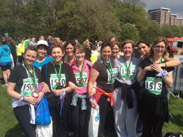 Well done to those who ran 5K for AMMF