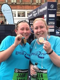 Great Run Manchester 10km (19.05.19) We did it!!!