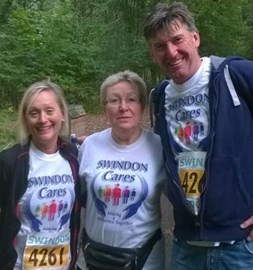 And Pam, Ray and Jane were only half way