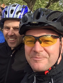 James and James will be riding LEJoG