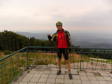 On the summit of Hochblauen - the final peak!